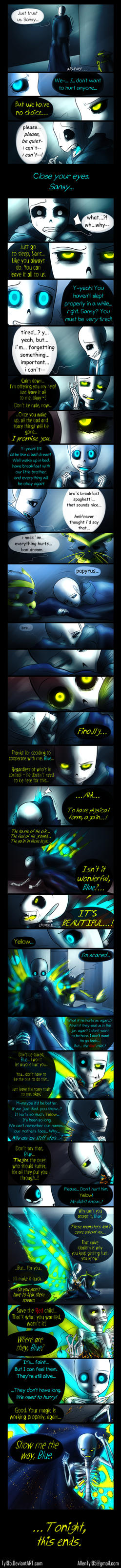 Lay to Rest (Undertale Comic) by Tyl95