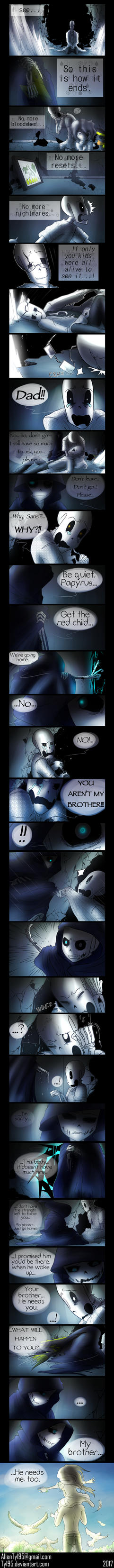 No More (Undertale Comic) by Tyl95