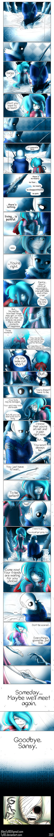 To Live (Undertale Comic) by Tyl95