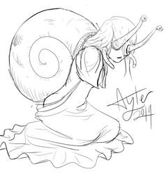 Lady Snail (Patron request) by Tyl95