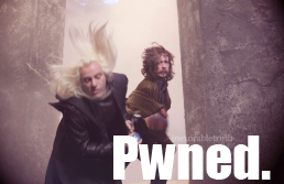 Lucius Malfoy: Pwned. by inexorabletruth