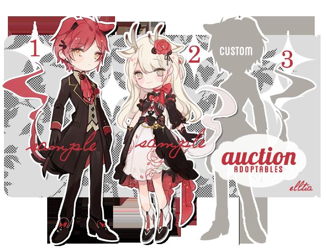 auction + custom! [closed!] by yukibuns