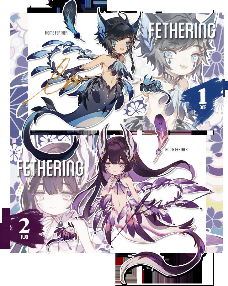 [fethering] auction [closed] by yukibuns