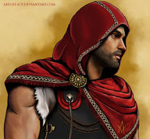 Assassin's Creed Odyssey Alexios by ArtOfI-Icy
