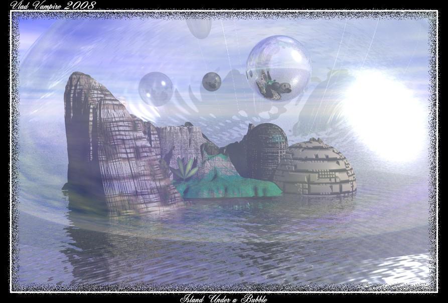Island under a bubble