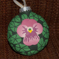 Pansy Ornament Side 2