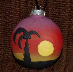 Palm Ornament Side 1