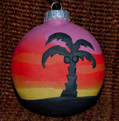 Palm Ornament Side 2