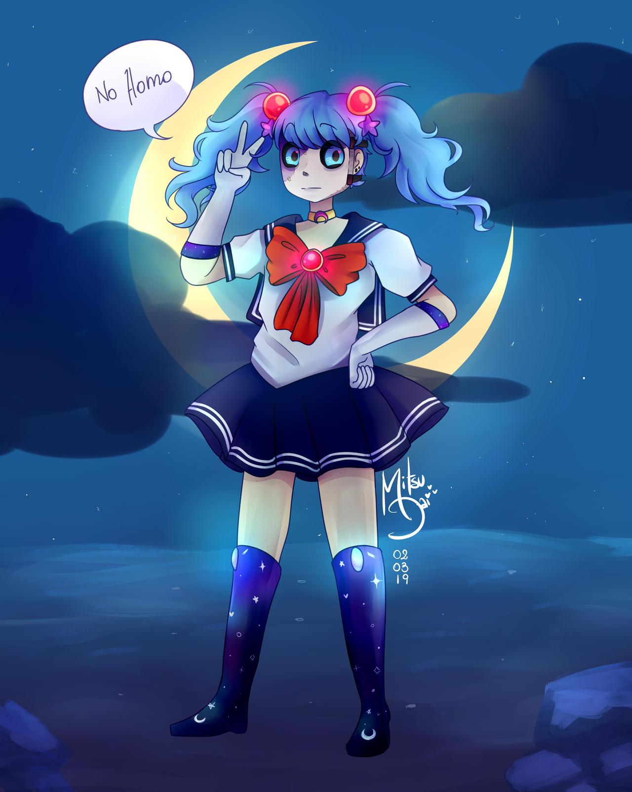 Sally Sailor Sally Face Fanart By Nishionekochan On Deviantart