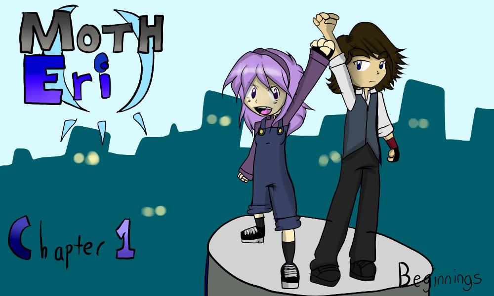 Moth Eri Chapter 1 Cover by Shatonoa