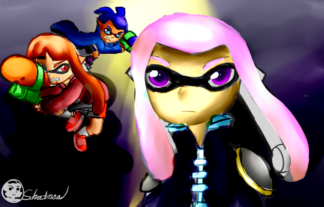 Splatoon Action!! by Shatonoa