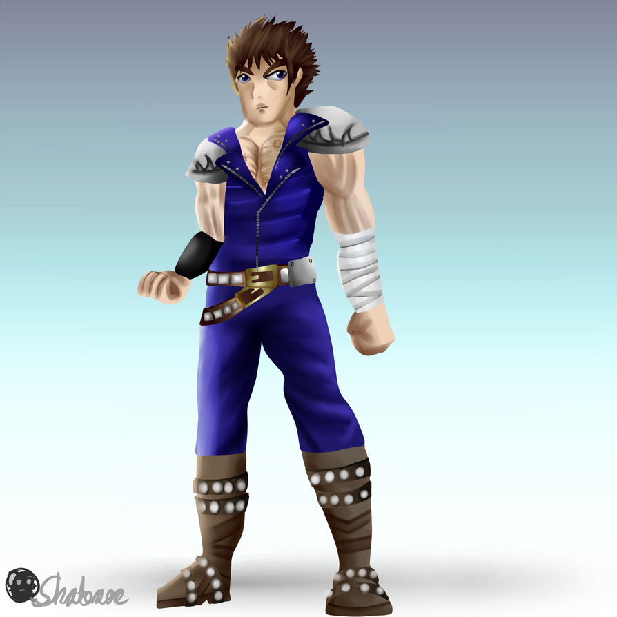 Kenshiro Smashified (SSB4-esque style) by Shatonoa