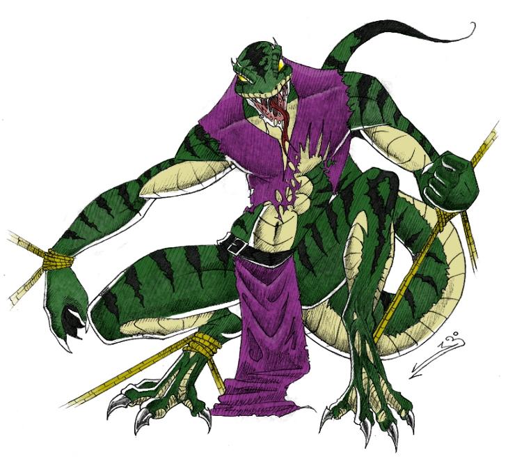 lizardman 2009 by quixxxopragmatism