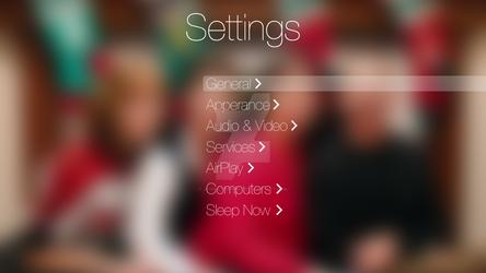 ATV Settings Screen (Concept iOS 7)