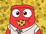 Anger Eats A Cookie With Kawaii Desu