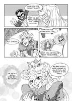 The Candle: A Bowser/Peach Doujin: [Page 87] by KichiMiangra