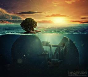 Strangely Underwater Rocks 160320