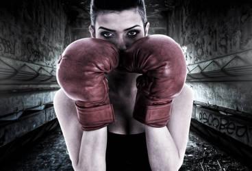 Grimy Female Boxer