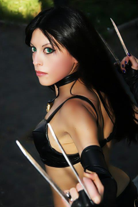 my cosplay Laura Kinney - X-23 by Michela1987 on DeviantArt X 23 Cosplay Wallpaper