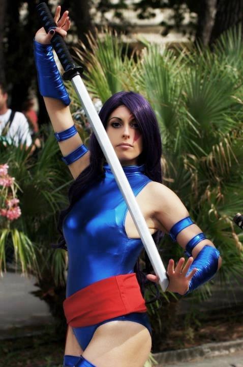 My cosplay Psylocke by Michela1987