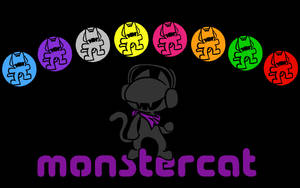 Monstercat Media: Pick Your Flavor wallpaper by RUROKENROX