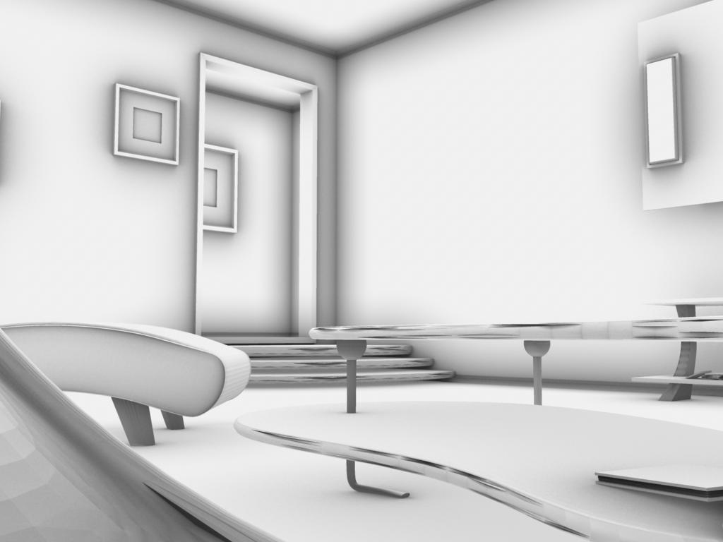 Maya Modeling Interior 5 By Cable Radiation On Deviantart