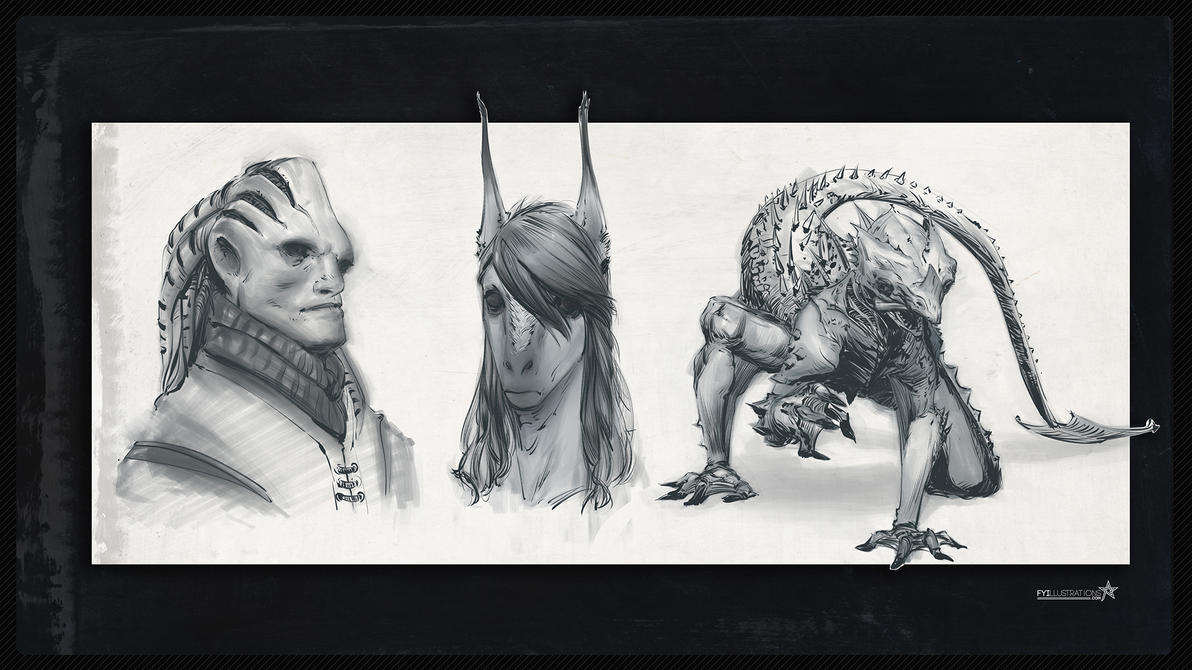 Beast Character Concepting by b-Worx