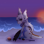 Pangon-Panorama TWF-002: Seashell Gathering by luparoca