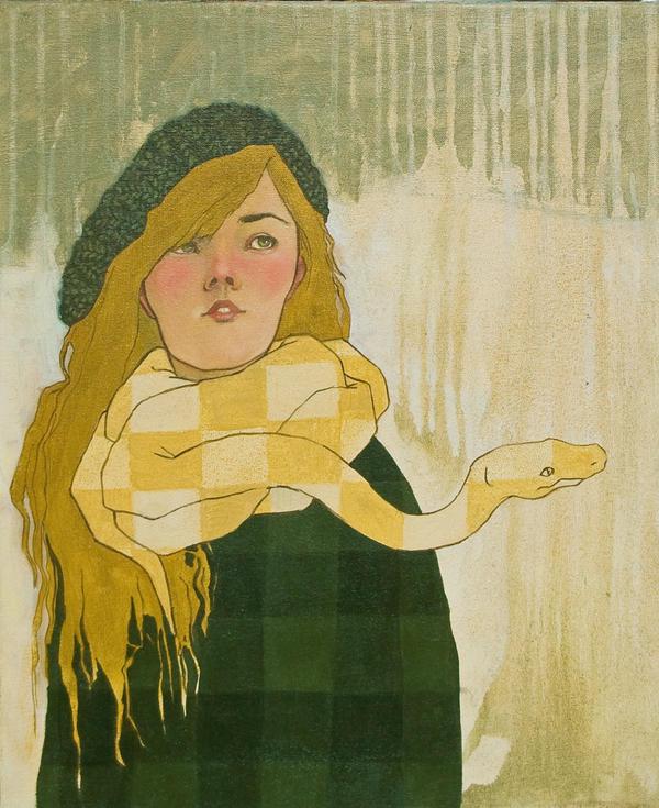 Snake Scarf by lauren-moyer