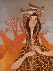 Giraffe Jacket by lauren-moyer