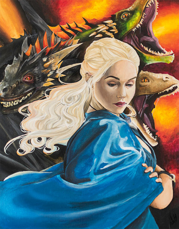 Mother of Dragons by JulietEssence
