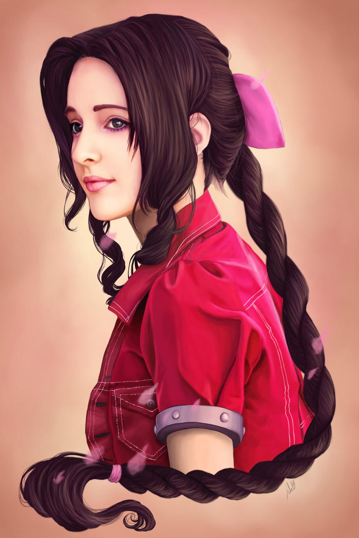 Aerith by JulietEssence