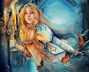 Beware Crimson Peak by JulietGarciaArt