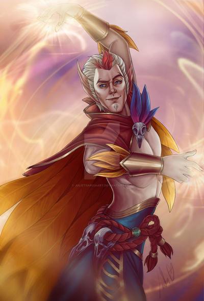 Rakan, the charmer by JulietGarciaArt