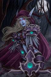 Sylvanas Windrunner by JulietGarciaArt