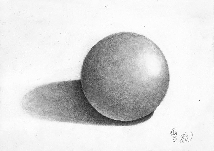 Basic Sphere Shading Exercise By Star Bound Dreamer On