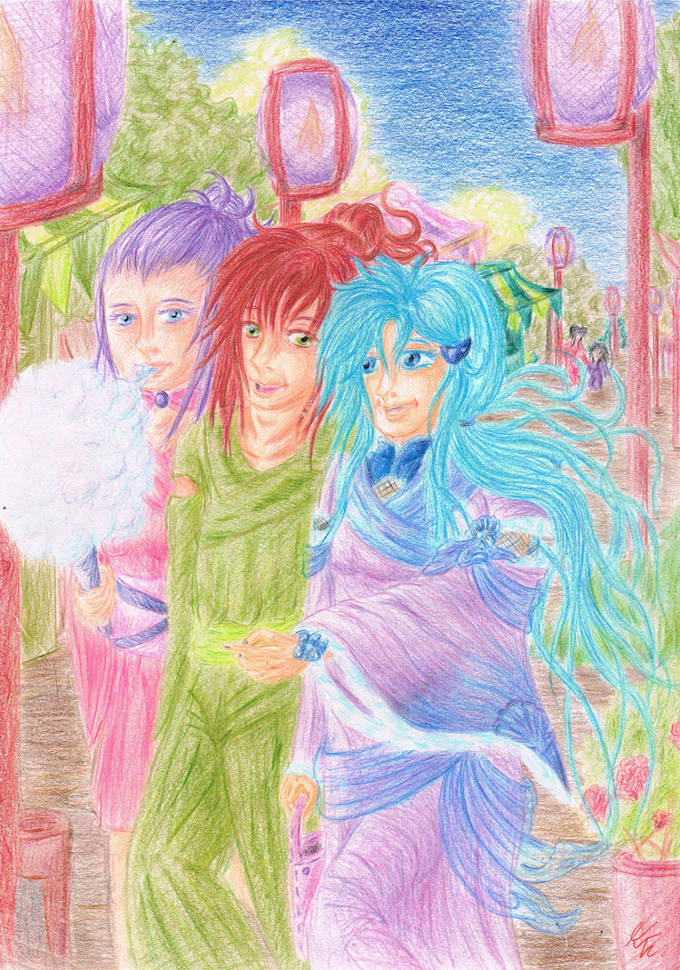 Summer Celebrations .... by Izayoi1265