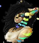 B-Day Gift: Spectra Headshot by Izayoi1265