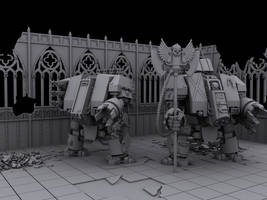 Dreadnought City of death by UnleasheDDesigns
