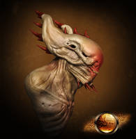 Zbrush Creature by UnleasheDDesigns