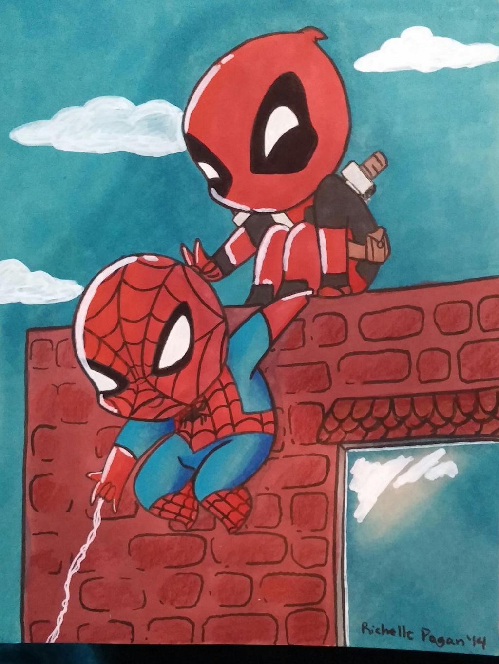 Baby Spider Man Wallpaper