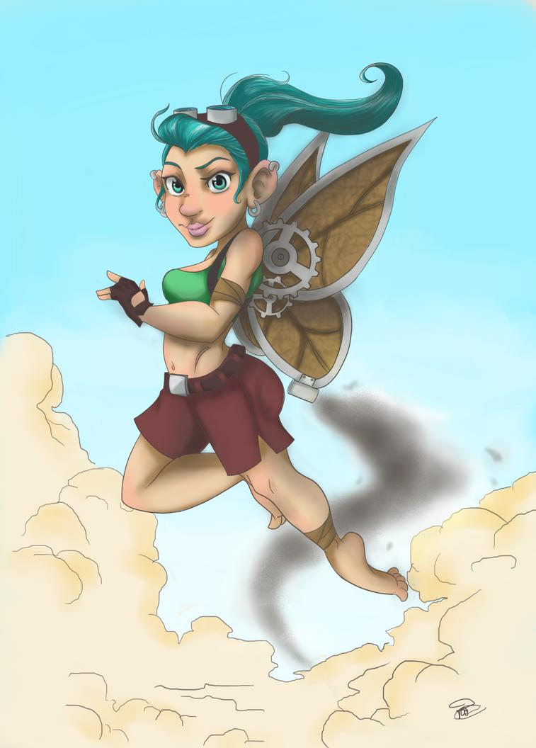 Gnomish Fairy by Pradaninja