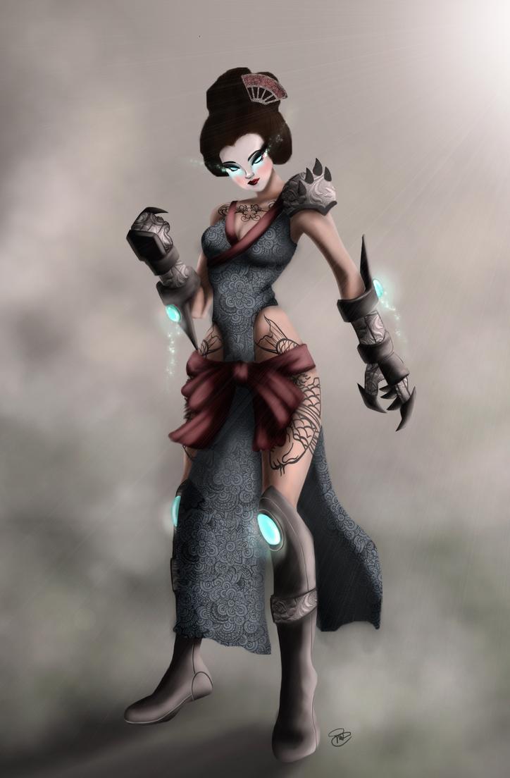 Warrior Geisha by Pradaninja