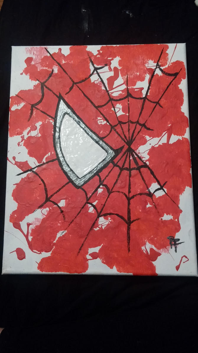 spiderman painting by Pradaninja