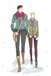 Winter in Nalmascus