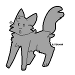 Cat lineart - F2U