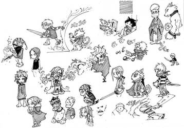 Random Chibi Characters
