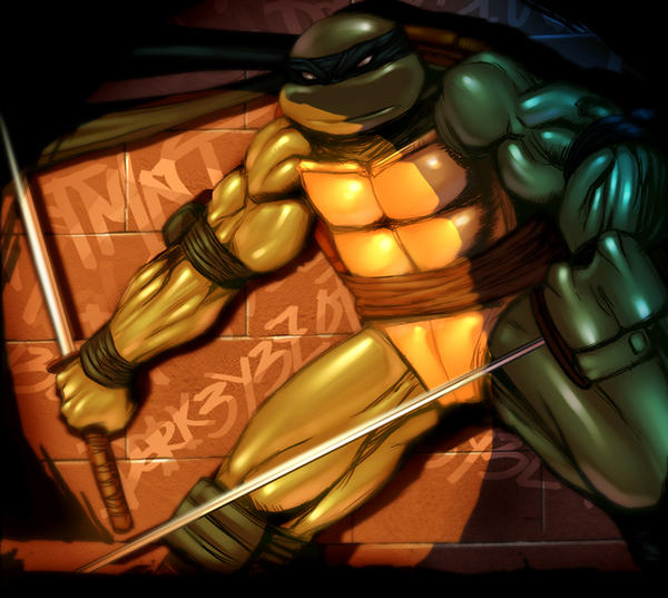 TMNT LEONARDO by darkeyez07