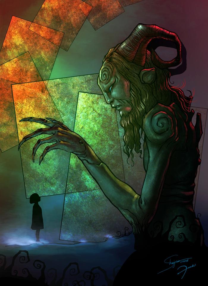 Pans Labyrinth by darkeyez07