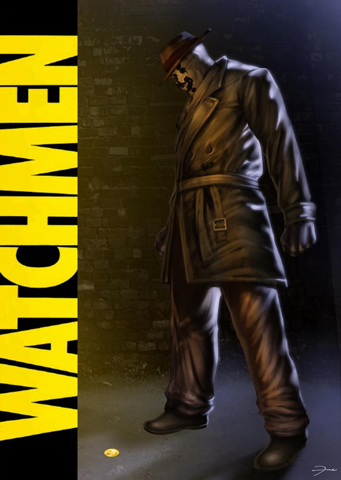 WATCHMEN : Rorschach by darkeyez07